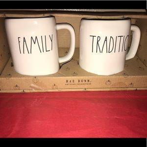 New! Rae Dunn mugs set of two